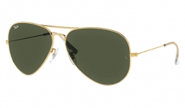 Ray-Ban RB3026 Aviator Large Metal II Prescription Sunglasses - Gold