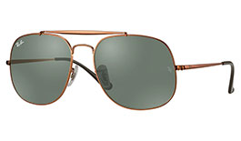 Ray-Ban RB3561 General Prescription Sunglasses - Bronze Copper