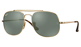 Ray-Ban RB3561 General Prescription Sunglasses - Gold
