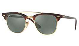 Ray-Ban RB3816 Clubmaster Double Bridge Prescription Sunglasses