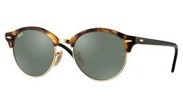 Ray-Ban RB4246 Clubround Prescription Sunglasses - Light Tortoise