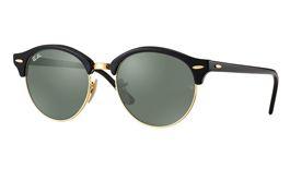 Ray-Ban RB4246 Clubround Prescription Sunglasses - Black