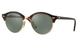 Ray-Ban RB4246 Clubround Prescription Sunglasses - Tortoise