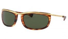 Ray-Ban RB2319 Olympian I Sunglasses - Havana / Green