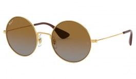 Ray-Ban RB3592 Ja-Jo Sunglasses - Gold / Brown Gradient Polarised