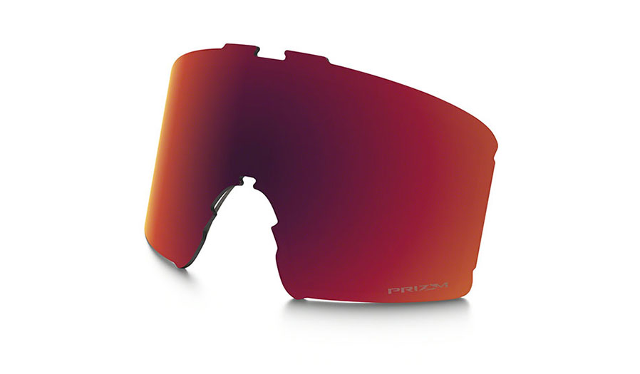 Oakley Line Miner Youth Ski Goggles Replacement Lens Kit - Prizm Torch Iridium