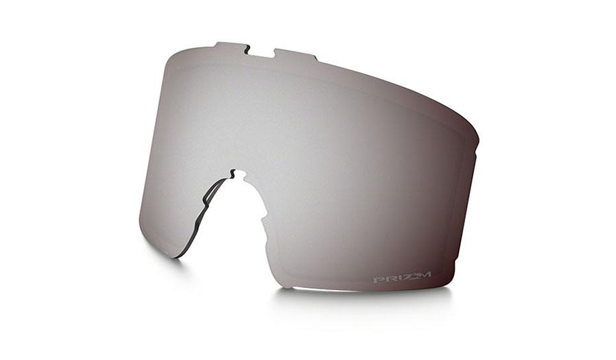 Oakley Line Miner Youth Ski Goggles Replacement Lens Kit - Prizm Black Iridium