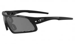 Tifosi Davos Sunglasses - Matte Black / Smoke + AC Red + Clear