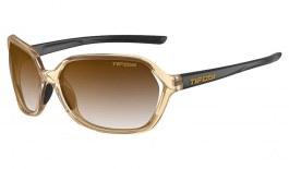 Tifosi Swoon Sunglasses - Crystal Brown & Onyx / Brown Gradient