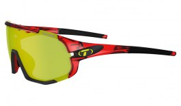 Tifosi Sledge Sunglasses - Crystal Red / Clarion Yellow + AC Red + Clear