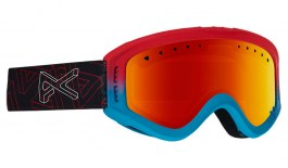 Anon Tracker Ski Goggles - Impossible / Red Amber