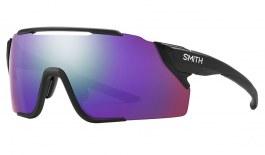 Smith Attack MAG MTB Sunglasses - Matte Black / ChromaPop Violet Mirror + ChromaPop Low Light Amber