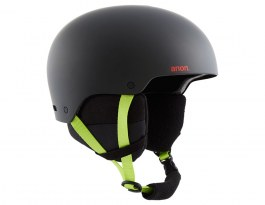 Anon Raider 3 Ski Helmet - Black Pop