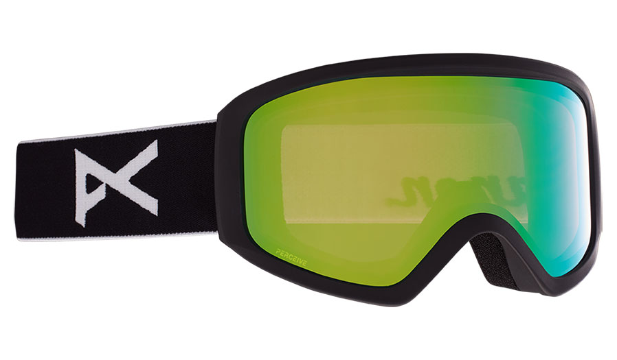 Anon Insight Ski Goggles - Black / Perceive Variable Green + Amber