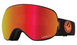 Dragon X2S Ski Goggles - Gigi Ruf Signature / Lumalens Red Ion + Lumalens Light Rose
