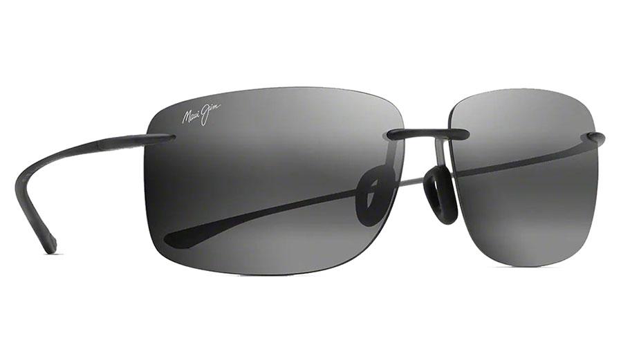 Maui Jim Hema Sunglasses - Matte Grey / Neutral Grey Polarised