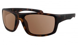 Dirty Dog Axle Sunglasses - Matte Tortoise / Brown Polarised