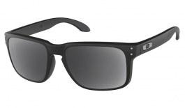 Oakley Holbrook Prescription Sunglasses - Matte Black (Satin Chrome Icon)