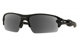 Oakley Flak 2.0 Prescription Sunglasses - Polished Black
