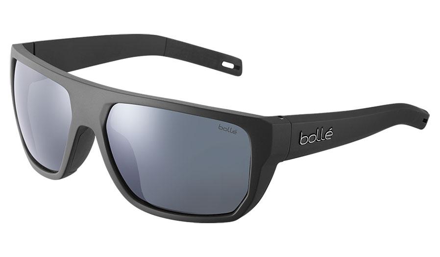 Bolle Vulture Sunglasses - Matte Black / Volt+ Gun Polarised