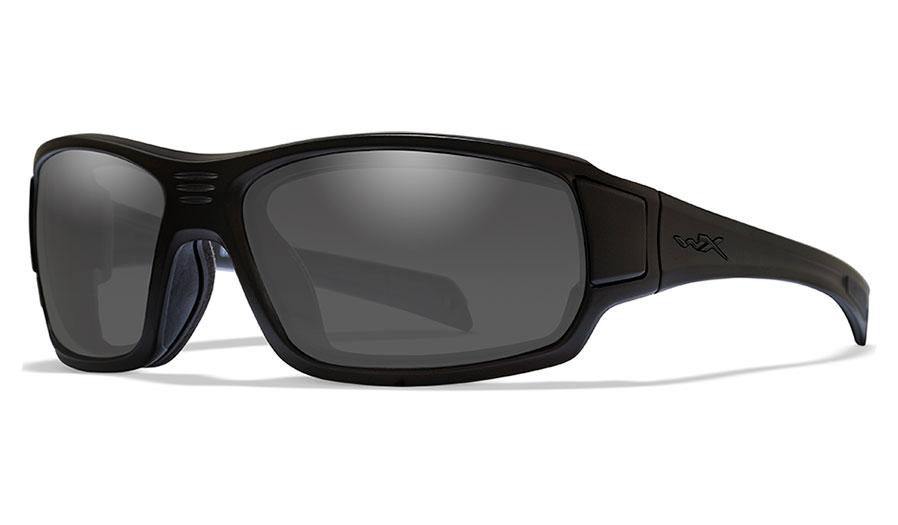 Wiley X Breach Sunglasses - Matte Black / Smoke Grey