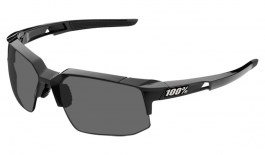 100% Speedcoupe Prescription Sunglasses - Polished Black