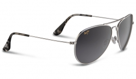 Maui Jim Mavericks Sunglasses - Silver / Neutral Grey