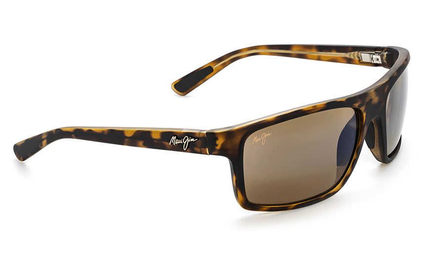 Maui Jim Byron Bay Sunglasses - Matte Tortoise / HCL Bronze Polarised