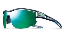 Julbo Aero Sunglasses - Dark Blue & Green / Spectron 3 CF Green