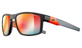 Julbo Stream Sunglasses - Black & Fluo Orange / Reactiv Performance 1-3 Red Flash Photochromic