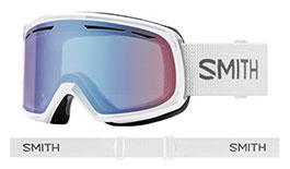 Smith Optics Drift Prescription Ski Goggles - White / Blue Sensor Mirror