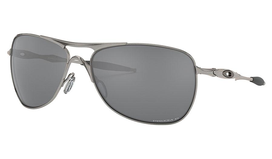 Oakley Crosshair Sunglasses - Lead / Prizm Black Polarised