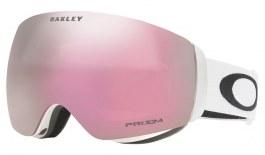Oakley Flight Deck XM Ski Goggles - Matte White / Prizm HI Pink Iridium