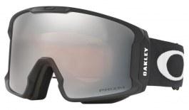 Oakley Line Miner Prescription Ski Goggles - Matte Black / Prizm Black Iridium