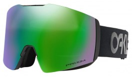 Oakley Fall Line XL Ski Goggles - Factory Pilot Blackout / Prizm Jade Iridium