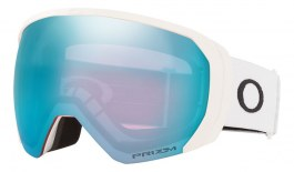 Oakley Flight Path XL Prescription Ski Goggles - Matte White / Prizm Sapphire Iridium