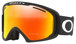 Oakley O Frame 2.0 Pro XL Ski Goggles - Matte Black / Fire Iridium + Persimmon