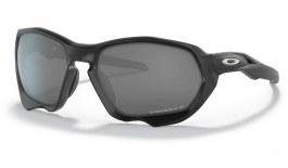 Oakley Plazma Sunglasses - Matte Black / Prizm Black Polarised