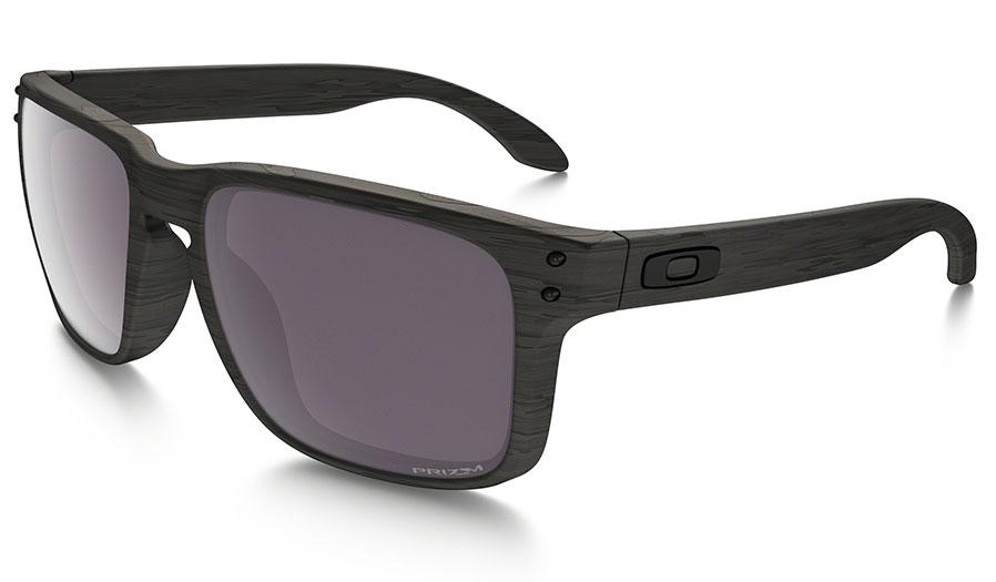 Oakley Holbrook Sunglasses - Woodgrain Collection - Woodgrain / Prizm Daily Polarised