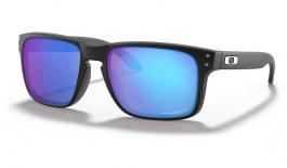 Oakley Holbrook Sunglasses - Matte Black / Prizm Sapphire Polarised