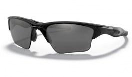 Oakley Half Jacket 2.0 XL Sunglasses - Polished Black / Black Iridium Polarised