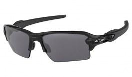 Oakley Flak 2.0 XL Sunglasses - Polished Black / Prizm Black Polarised