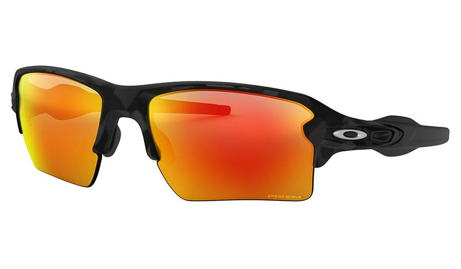 Oakley Flak 2.0 XL Sunglasses - Black Camo / Prizm Ruby