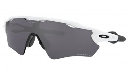 Oakley Radar EV Path Sunglasses - Polished White / Prizm Black Polarised