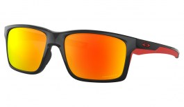 Oakley Mainlink XL Sunglasses - Polished Black / Prizm Ruby Polarised