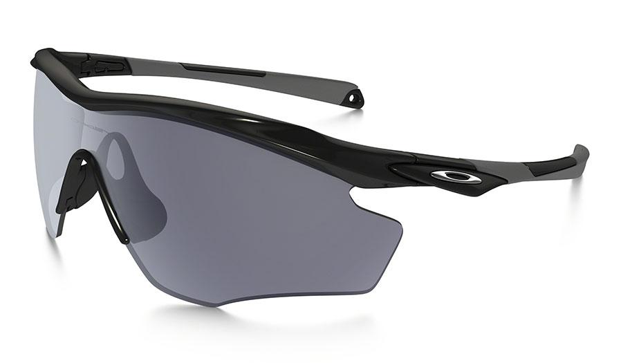 27e380b75c Oakley M2 Frame XL Sunglasses - Polished Black   Grey - RxSport