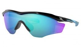 Oakley M2 Frame XL Sunglasses - Polished Black / Prizm Sapphire