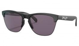 Oakley Frogskins Lite Sunglasses - Matte Black / Prizm Grey
