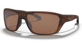 Oakley Split Shot Sunglasses - Matte Brown Tortoise / Prizm Tungsten Polarised