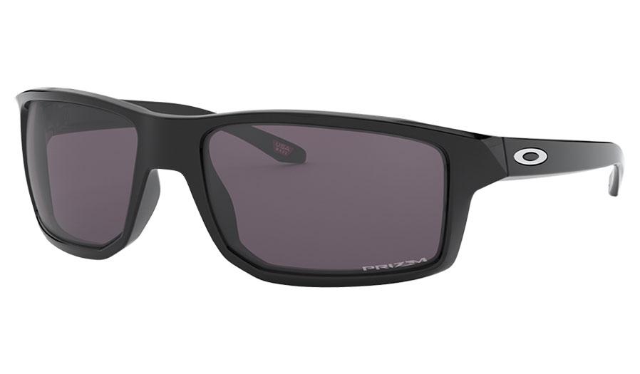 Oakley Gibston Sunglasses - Polished Black / Prizm Grey